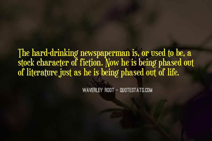 Newspaperman Quotes #1050583