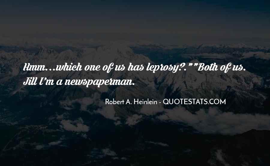 Newspaperman Quotes #1477820