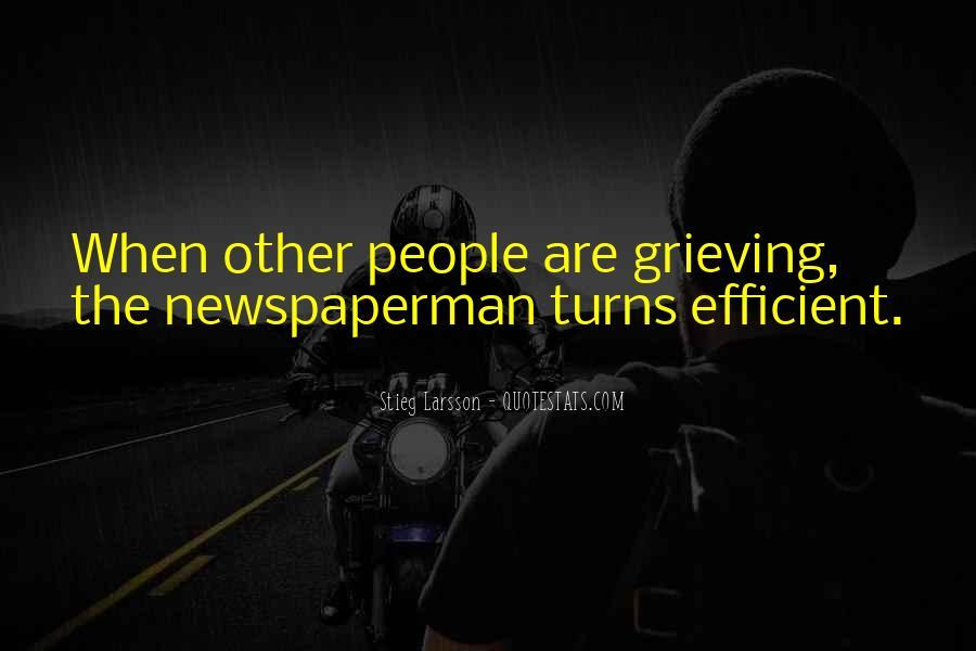 Newspaperman Quotes #1835705