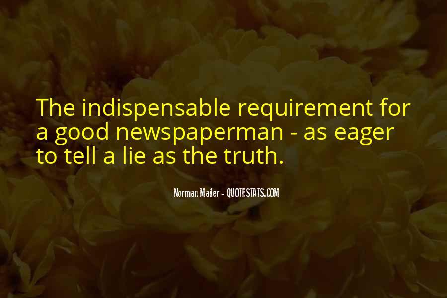 Newspaperman Quotes #444795