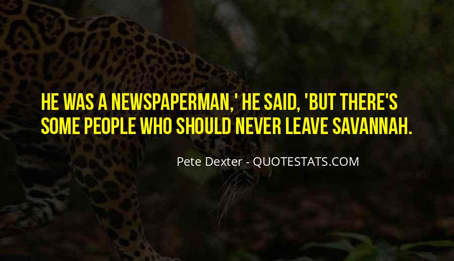 Newspaperman Quotes #75351