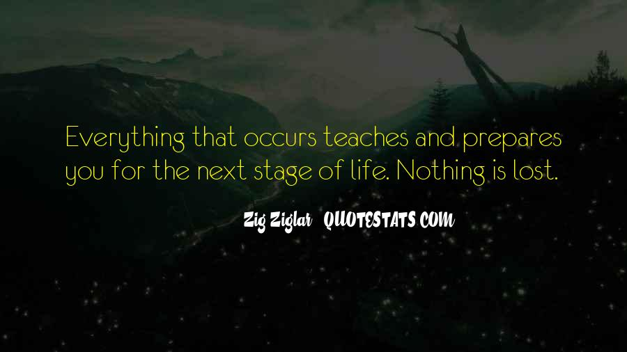 Next Stage Life Quotes #20078
