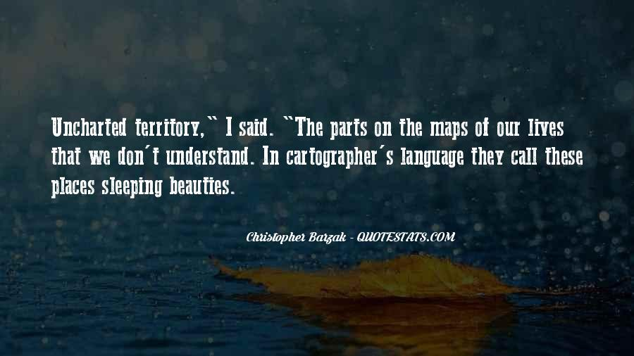 Quotes About Cartographer #475078