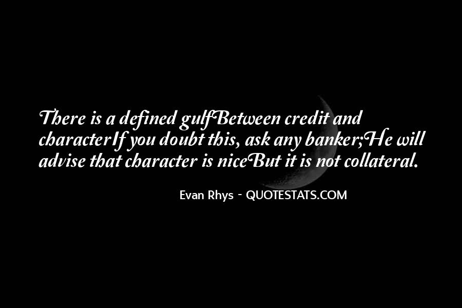 Nice Bankers Quotes #1728619