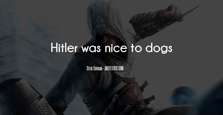 Nice Gets You Nowhere Quotes #5022