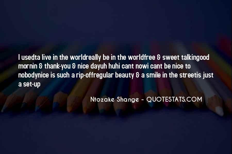 Nice N Sweet Quotes #322912