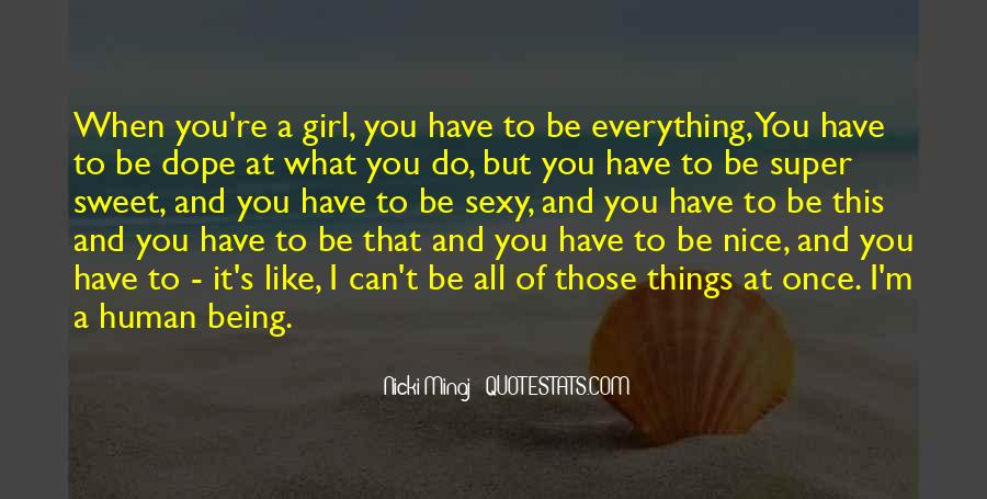 Nice N Sweet Quotes #486423