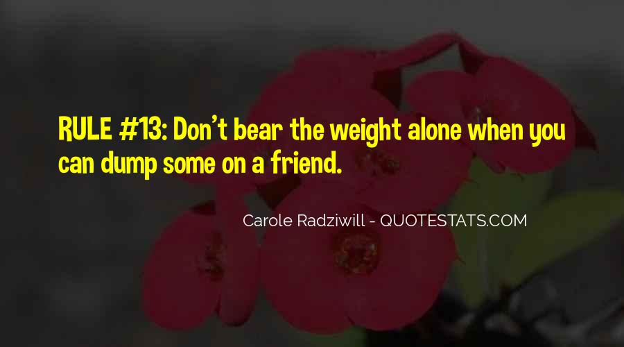 Quotes About Carole #94754