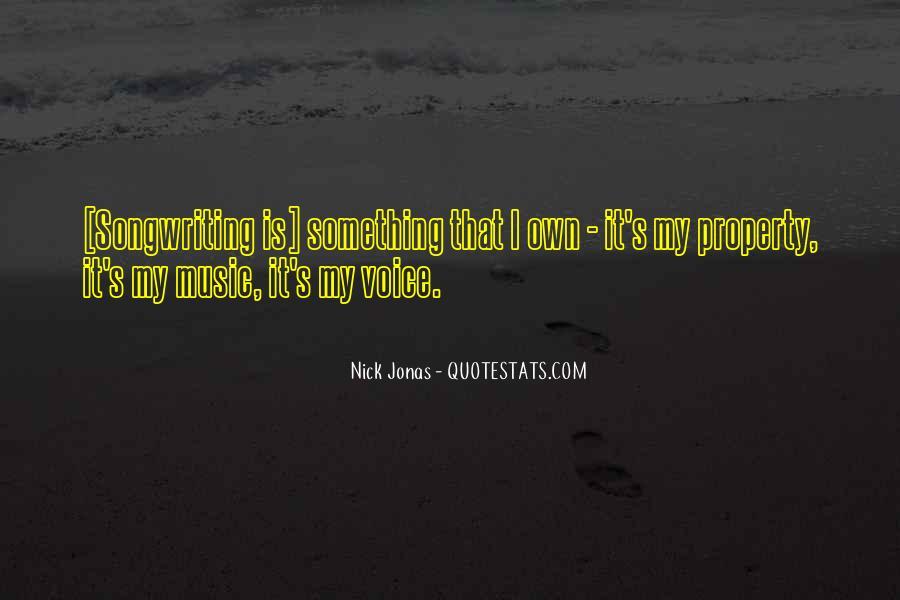 Nick Jonas Music Quotes #574684