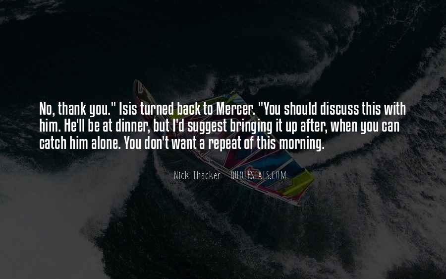 Nick Mercer Quotes #1775865
