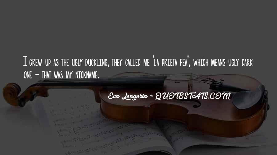 Nickname Quotes #1020883