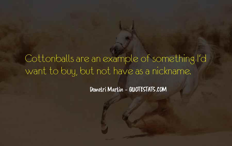 Nickname Quotes #1028508