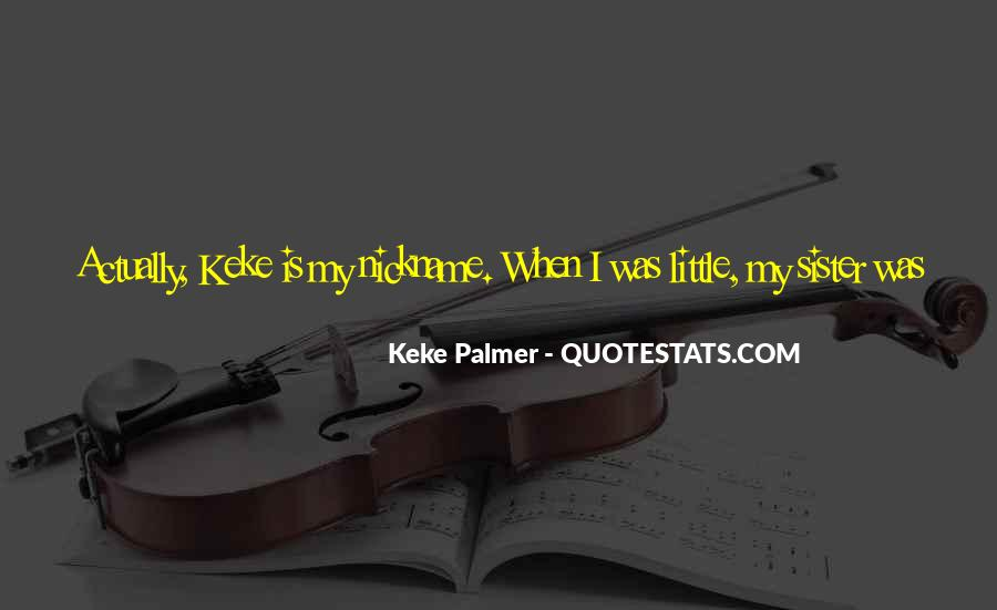 Nickname Quotes #314734