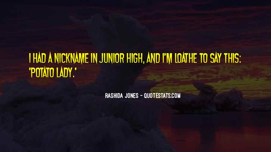 Nickname Quotes #420552