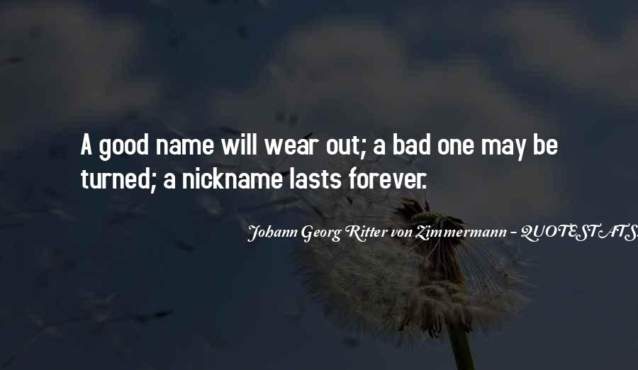 Nickname Quotes #565355