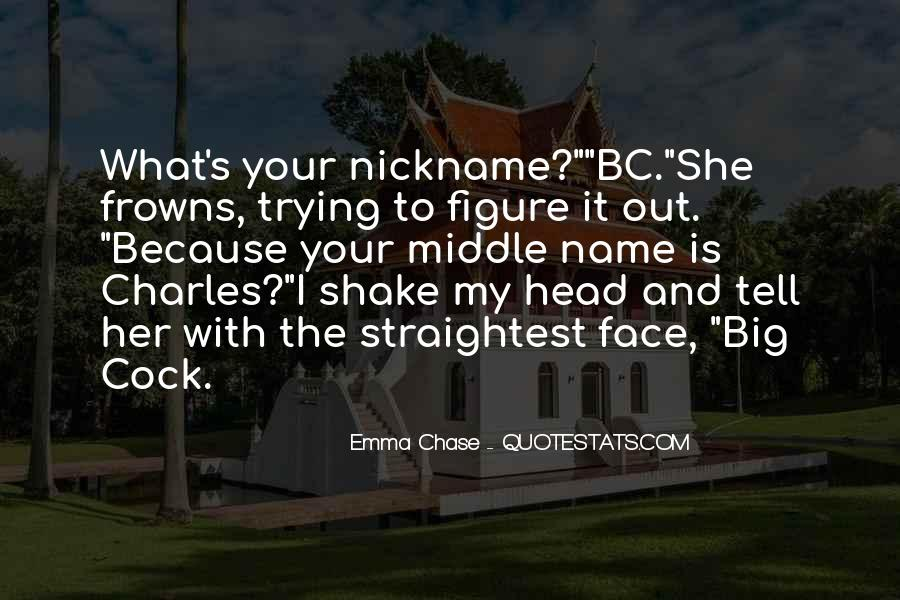 Nickname Quotes #596349