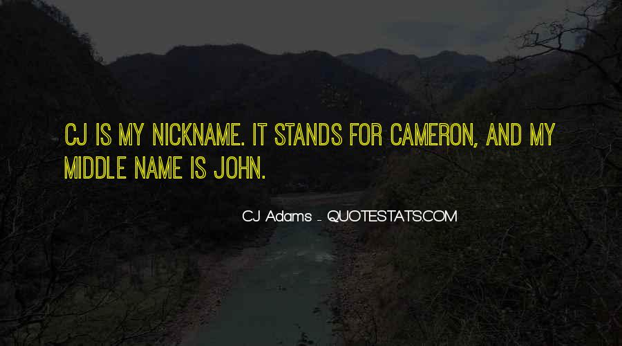 Nickname Quotes #88934
