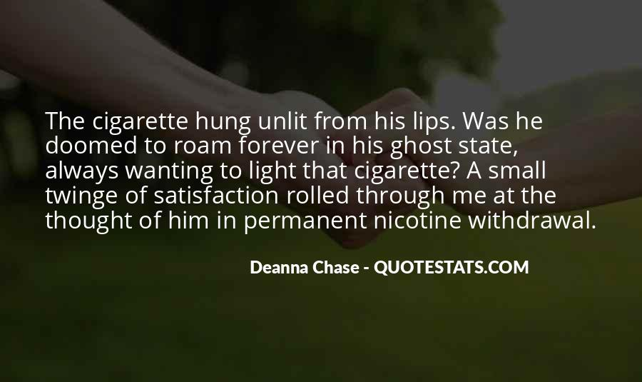 Nicotine Withdrawal Quotes #391983