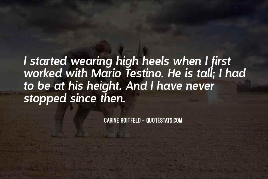 Quotes About Carine #137052