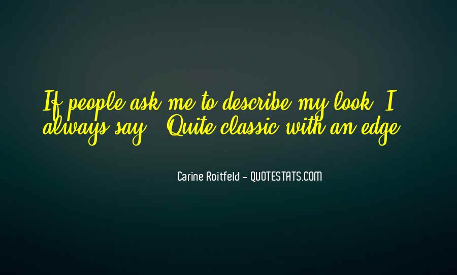 Quotes About Carine #415009