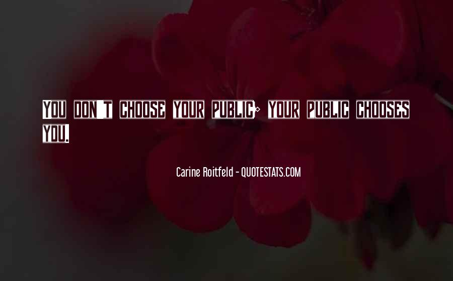 Quotes About Carine #66738