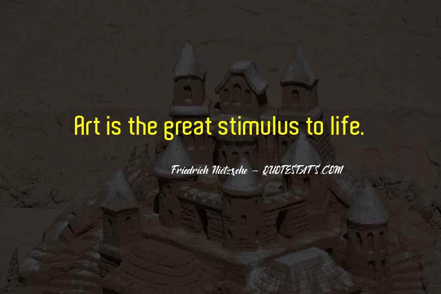 Nietzsche Art Quotes #1195649