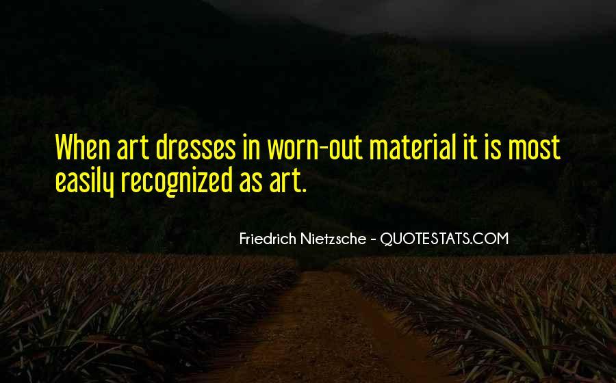 Nietzsche Art Quotes #1823705