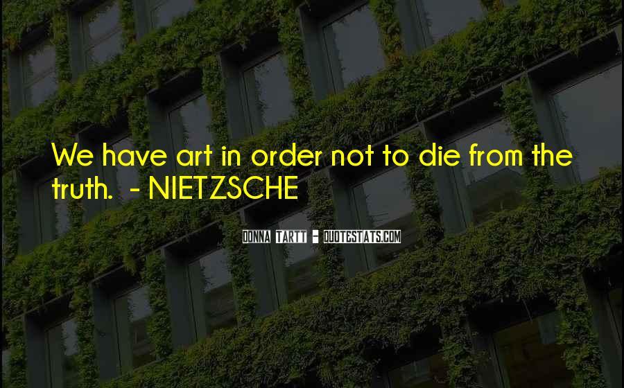Nietzsche Art Quotes #1842523