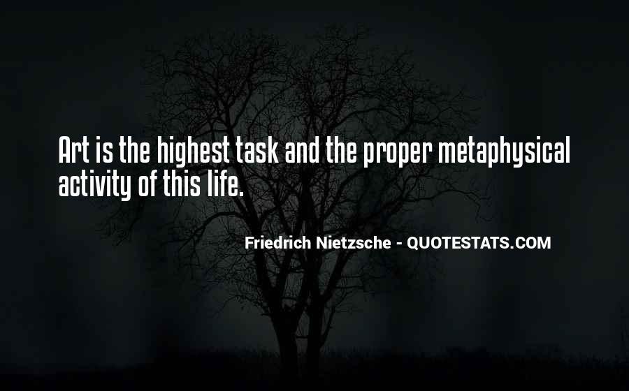 Nietzsche Art Quotes #509392