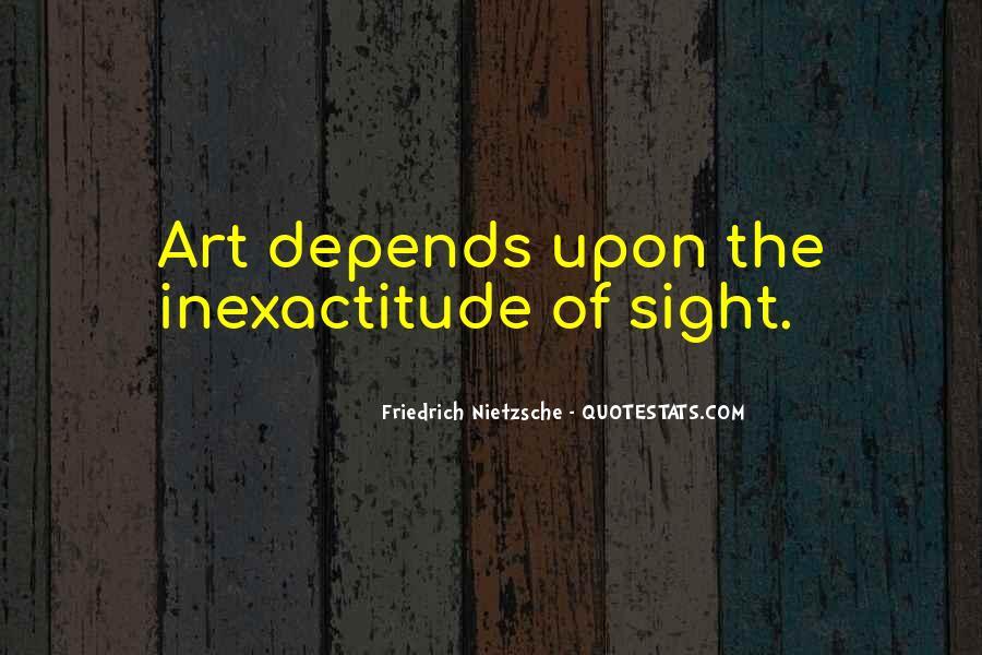 Nietzsche Art Quotes #558597