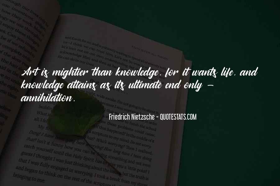 Nietzsche Art Quotes #707874