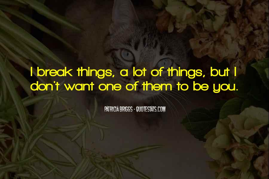 Night Broken Patricia Briggs Quotes #1186809