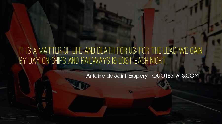 Night Flight Antoine De Saint Exupery Quotes #753482