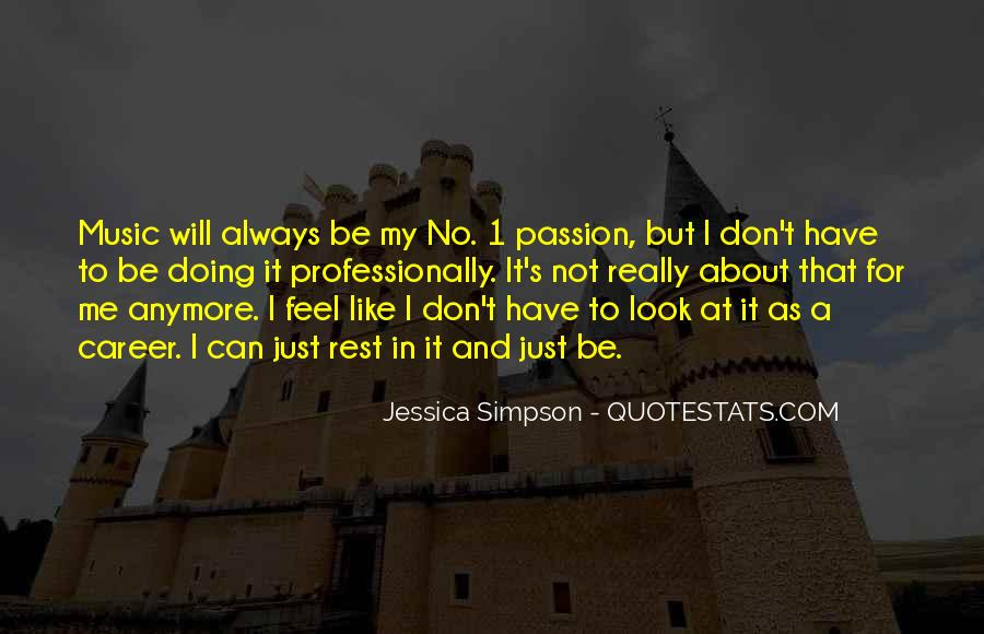 Quotes About Career And Passion #1596845