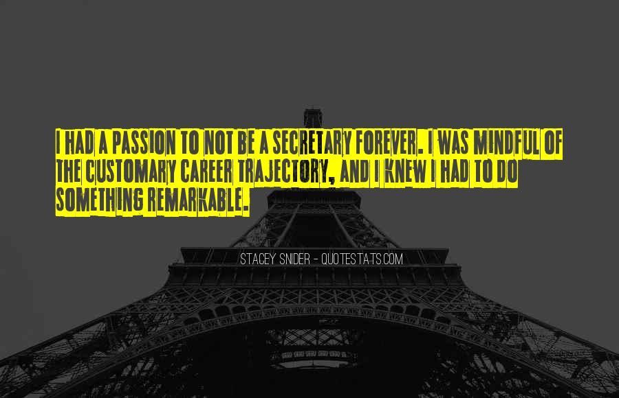 Quotes About Career And Passion #1797931