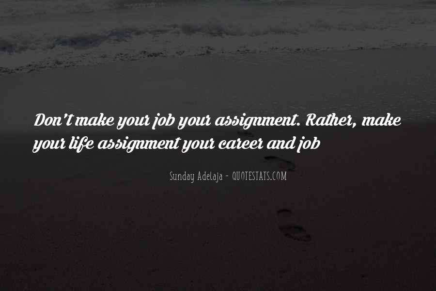 Quotes About Career And Passion #230632