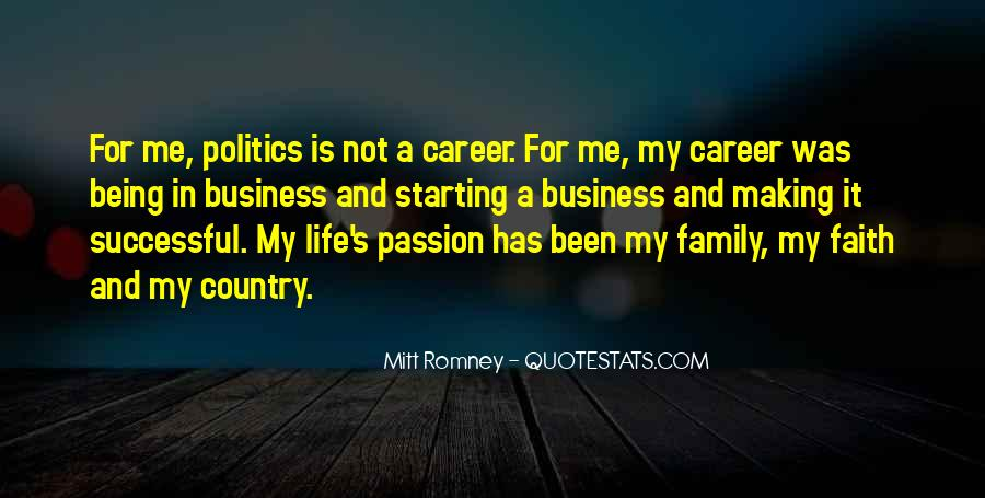 Quotes About Career And Passion #87413