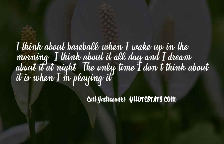 Night Time Dream Quotes #1067640