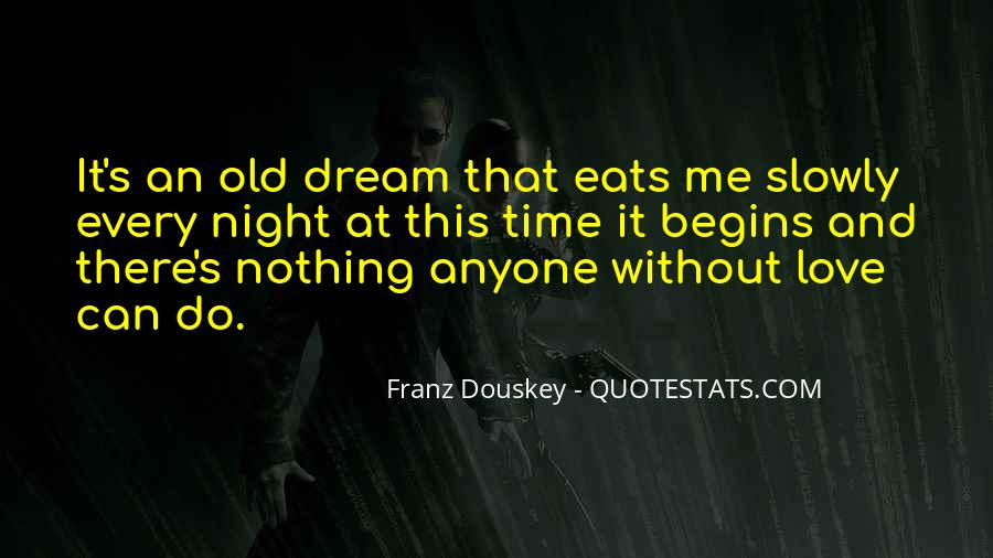 Night Time Dream Quotes #1767815