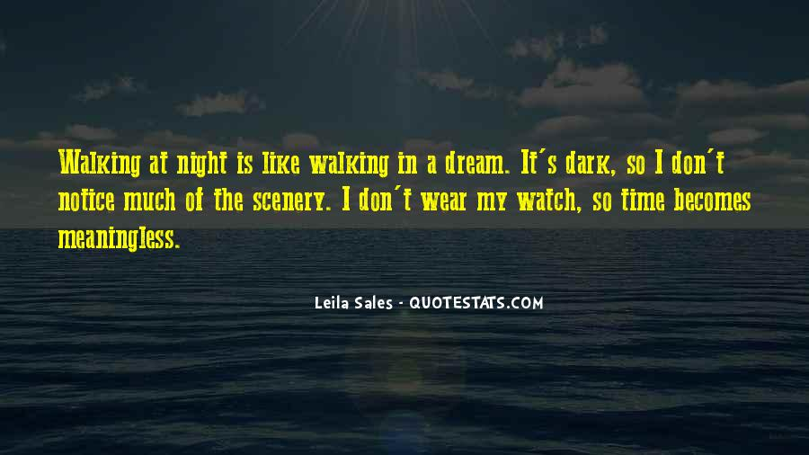 Night Time Dream Quotes #264763