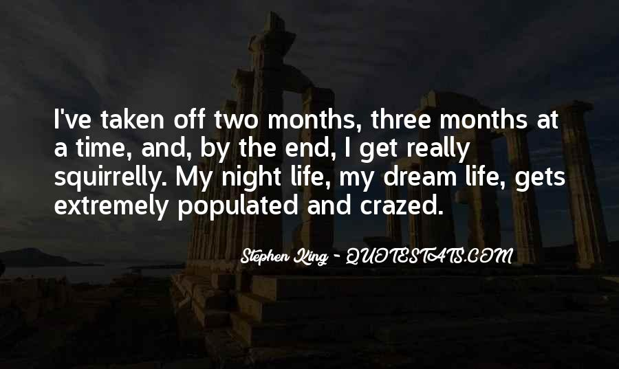 Night Time Dream Quotes #681852