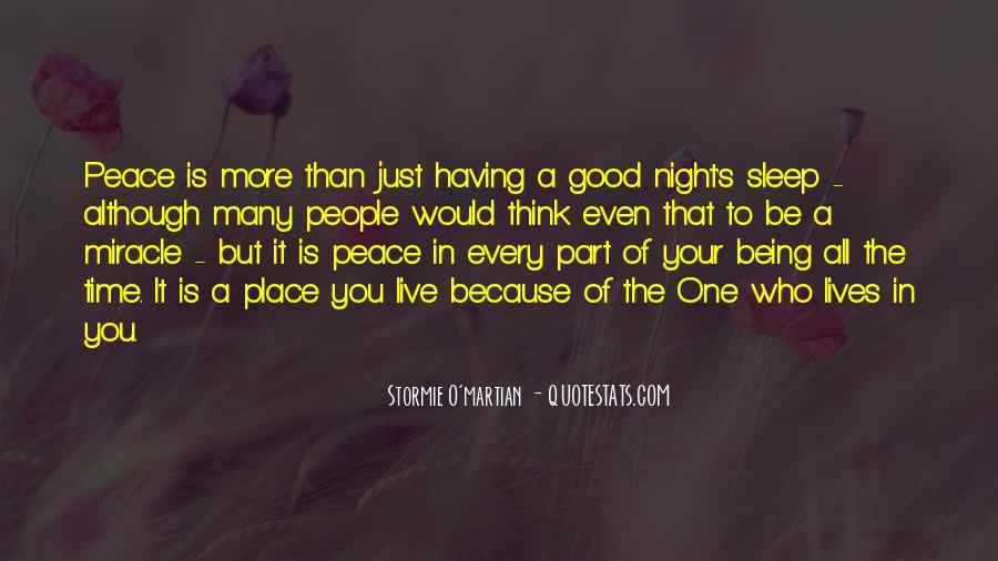 Night Time Sleep Quotes #1017137