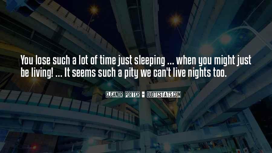 Night Time Sleep Quotes #1046964