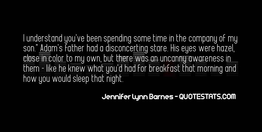 Night Time Sleep Quotes #1147946