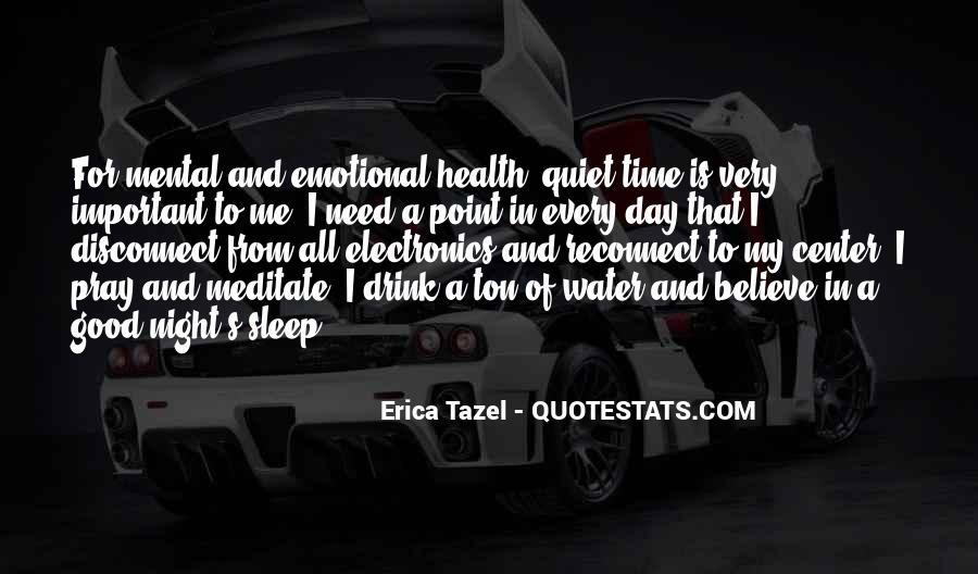 Night Time Sleep Quotes #1179838