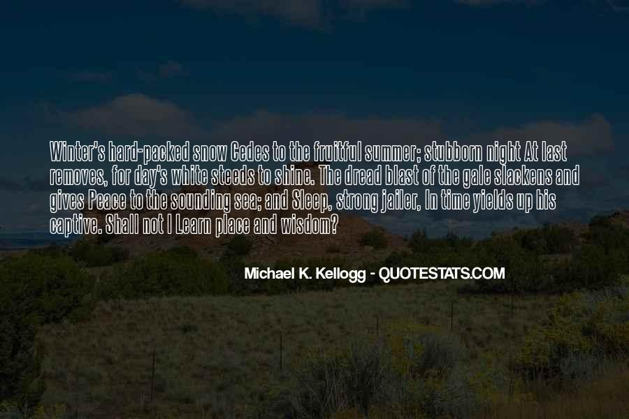 Night Time Sleep Quotes #1195748