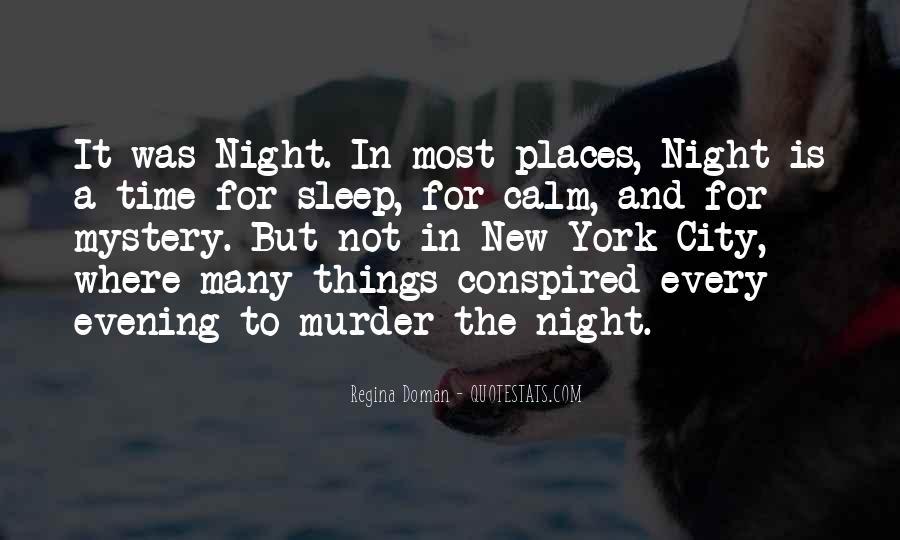 Night Time Sleep Quotes #1196886