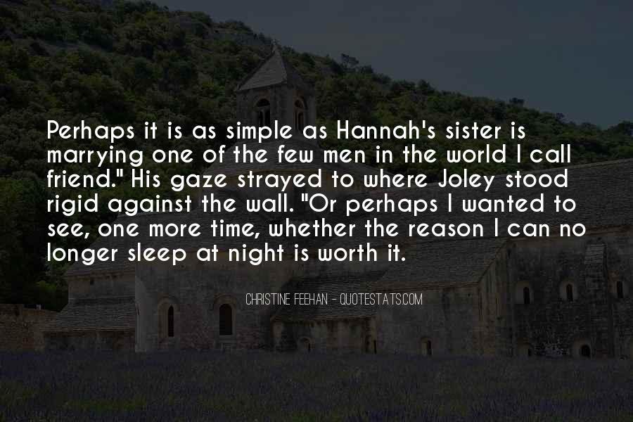 Night Time Sleep Quotes #1240132