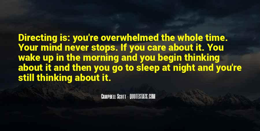 Night Time Sleep Quotes #1292241