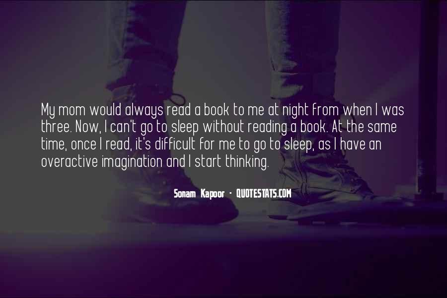 Night Time Sleep Quotes #134340